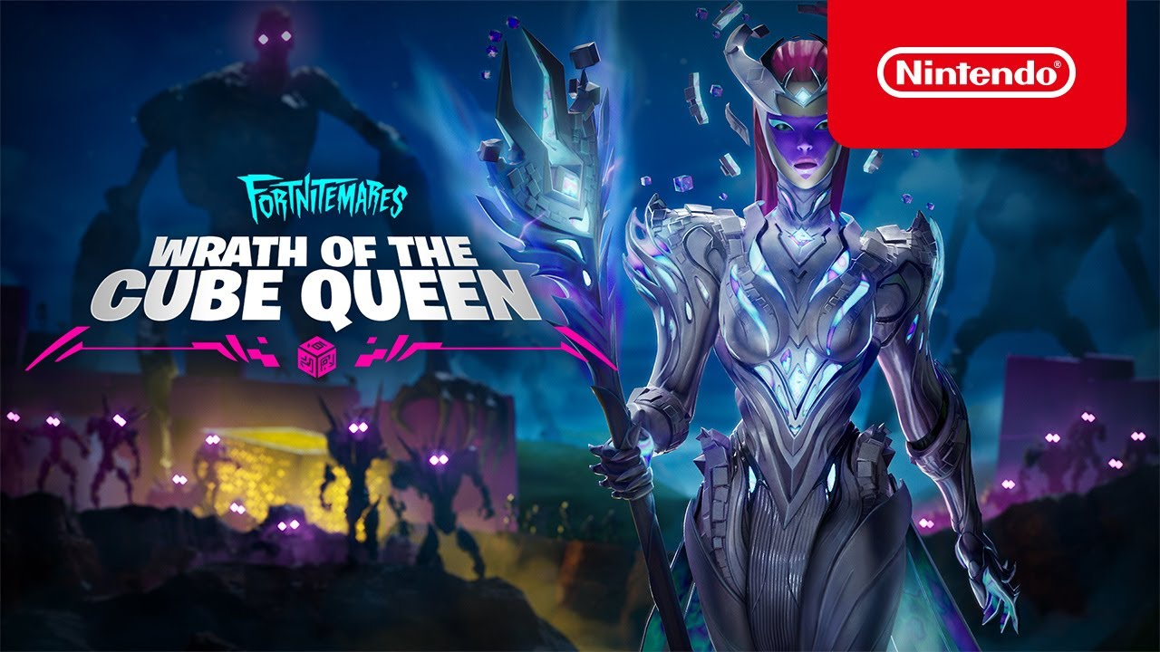Fortnitemares 2021 – Wrath of the Cube Queen Story Trailer – Nintendo Switch