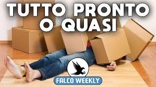 TUTTO PRONTO... O QUASI ★ FALCO WEEKLY