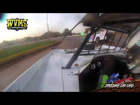 #111 Max Blair - Super Late Model - 10-10-21 West Virginia Motor Speedway - In-Car Camera - dirt track racing video image