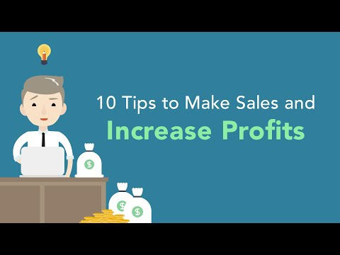 10 Tips to Increase Profits and Sales for Your Business  Brian Tracy