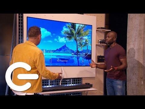 Unboxing The LG Signature OLED TV W - The Gadget Show - UCOZlALOP7ZqodgQgH4BybqA
