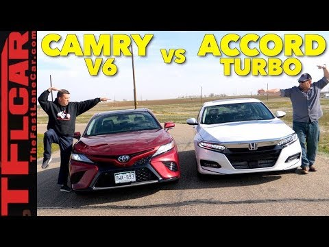 2018 Honda Accord Vs Toyota Camry Expert Er S Guide