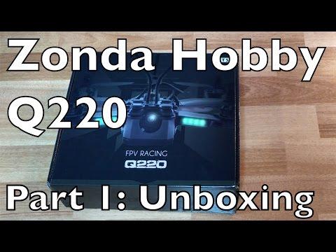 ZondaHobby.com RTR Q220 Racing Quad- Unboxing Part 1 - UCTa02ZJeR5PwNZK5Ls3EQGQ