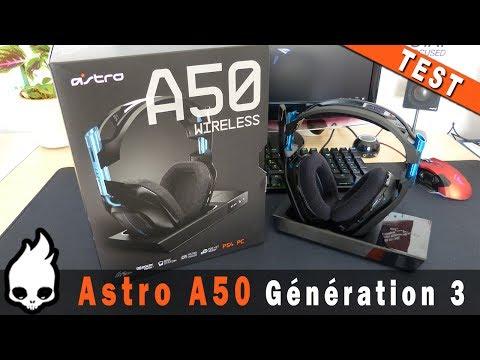 Unboxing Essai Casque Micro A50 Wireless Dastro Racerlt