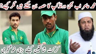 Muhammad Amir Can Still Be Part Of World Cup Squad 2019 / Mussiab Sports /