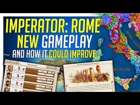 Imperator: ROME New Gameplay Breakdown & Impressions - UCfxYbw70zVe6goukeamRp9w
