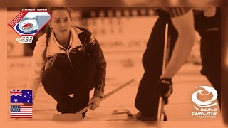 Bronze medal - World Mixed Doubles Curling Championship 2019