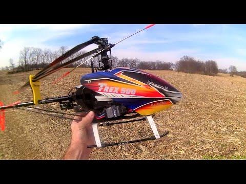 Align T-Rex 500 ESP Helicopter - Beautiful Day For A Flight - UCMuQ_jJMxVYuqpRFURRCofA