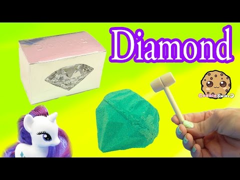 Surprise Diamond Dig It Digging For Diamonds with My Little Pony Rarity - Cookie Swirl C Video - UCelMeixAOTs2OQAAi9wU8-g