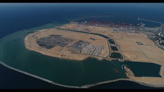 Sri Lanka launches new map following construction of China-funded port city