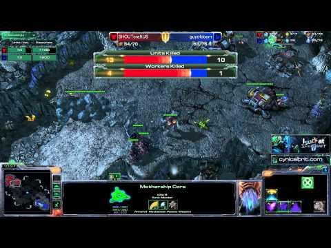 StarCraft 2: Heart of the Swarm: Warhound Gameplay