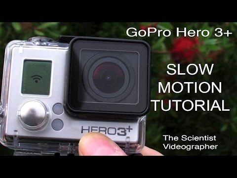 GoPro Hero 3 Slow Motion Tutorial