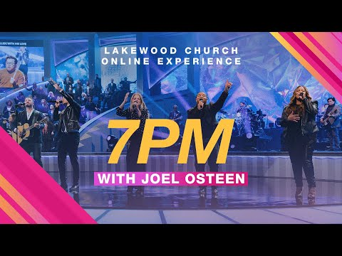 Lakewood Church   Joel Osteen  Sunday Service 7pm