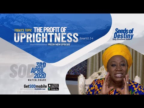 Dr Becky Paul-Enenche - SEEDS OF DESTINY  FRIDAY APRIL 3, 2020