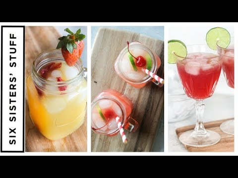 How to Make 3 EASY NonAlcoholic Drinks