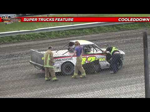 www.cooleddown.tv   LIVE LOOK IN   Saturday Afternoon Racing from Victory Lane Speedway Sept 4th - dirt track racing video image