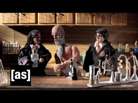 Harry Potter and the Professor Who Broke Bad (Complete) | Robot Chicken | Adult Swim - UCgPClNr5VSYC3syrDUIlzLw