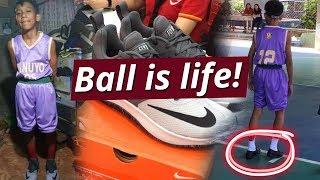 SONA: Batang nagba-basketball nang naka-leather shoes, sinorpresa ng bagong rubber shoes