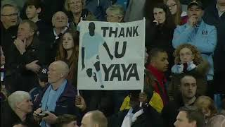 City surprise Yaya on farewell