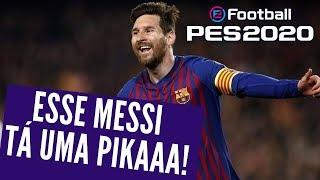 PES 2020 - Humilhando com Lionel Messi o MELHOR DO MUNDO!