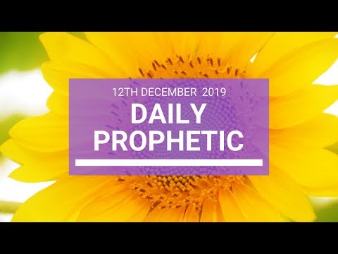 Daily Prophetic 12 December 3  of 4