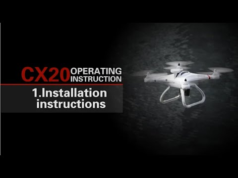 From newbie to expert: How To Fly RC Drone Cheerson CX-20 In 7 Minutes #Samiluo - UCgJCa5JyZUFkw2evyuvLbJA