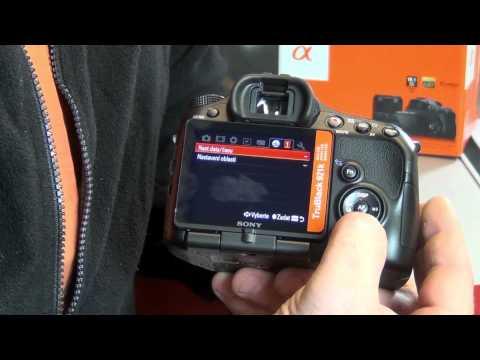 Videorecenze Sony Alpha A57 tělo