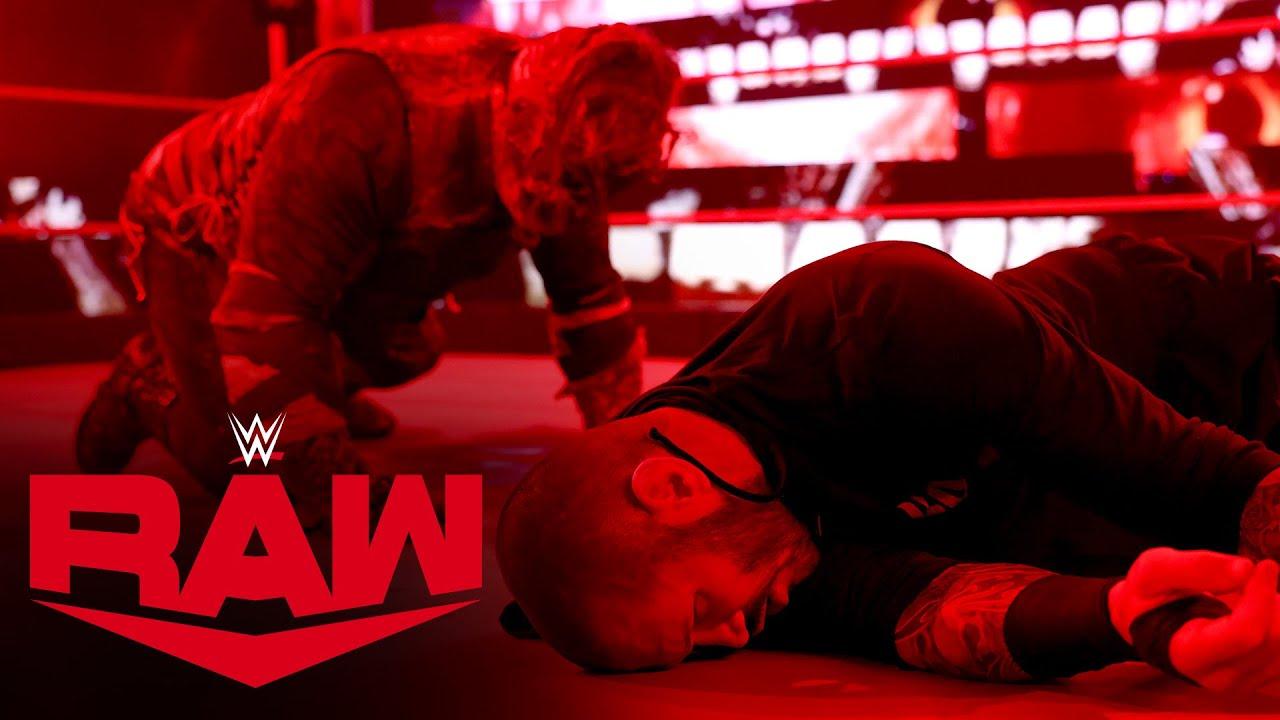 Randy Orton summons The Fiend: Raw, Mar. 22, 2021