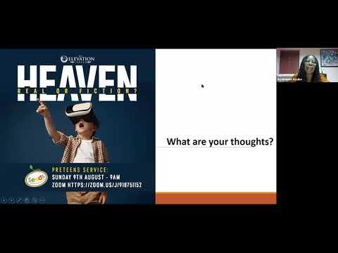 Heaven - Fact or Fiction  The Elevation Church Junior Church Service