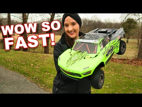 SUPER FAST 50+ MPH & Affordable RC Truck - 1/10 SENTON 4x4 3S BLX Brushless SCT RTR - TheRcSaylors - UCYWhRC3xtD_acDIZdr53huA