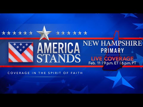 2020 America Stands LIVE Election Coverage: New Hampshire Primary  (Feb. 11, 2020)