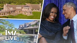 The Obamas New Mansion Is INSANE | TMZ Live