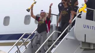 America welcomes its FIFA Women's World Cup heroes!