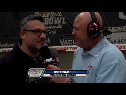 Tony Stewart on track prep with The RacinBoys - dirt track racing video image