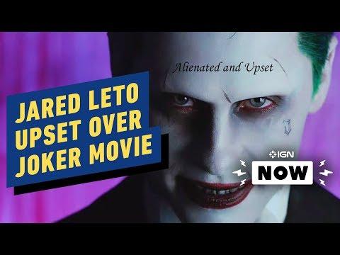Joker: Jared Leto Upset Over Joaquin Phoenix Movie - IGN Now - UCKy1dAqELo0zrOtPkf0eTMw