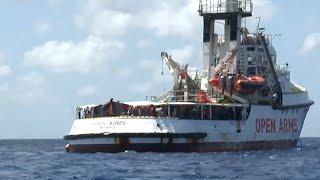 Open Arms : l'équipage dénonce une situation
