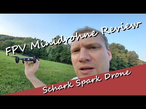 Schark Spark Drone Guard FQ36 Review - eine coole Minidrohne mit tollen Features mit 2. Akku!!! - UCNWVhopT5VjgRdDspxW2IYQ