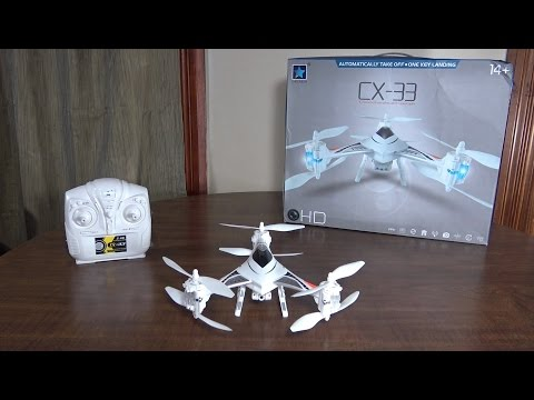 Cheerson - CX-33C (Y6 Tricopter) - Review and Flight - UCe7miXM-dRJs9nqaJ_7-Qww