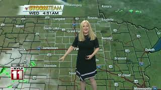 Weather Morning Forecast August 21