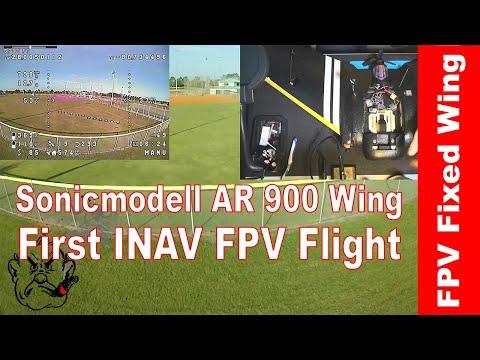 AR 900 Wing First FPV Goggles Flight with INAV - UCoLOzrRmjuhKDwYFB_BiK1A