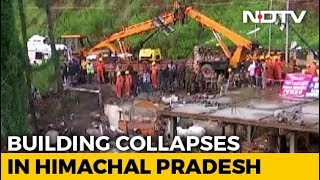 14 Killed In Building Collapse After Heavy Rain In Himachal's Solan