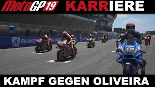 Zweikampf gegen Oliveira in Le Mans!   MotoGP 19 KARRIERE #054[GERMAN] PS4 Gameplay