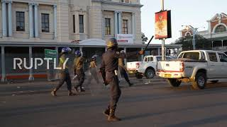 Zimbabwe: Security forces brought in for banned Bulawayo protest
