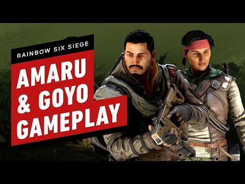 Rainbow Six Siege: Amaru and Goyo Gameplay - UCKy1dAqELo0zrOtPkf0eTMw