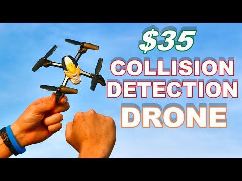 Obstacle Avoidance Drone - Kaideng Pantonma K90W Micro Quadcopter - TheRcSaylors - UCNUx9bQyEI0k6CQpo4TaNAw