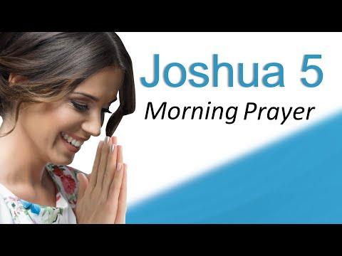 GOD'S GOT THIS - JOSHUA 5 - MORNING PRAYER