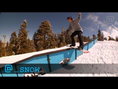 Snowboard Trick Tips: Switch Lipslide 270s With Nima Jalali - networka
