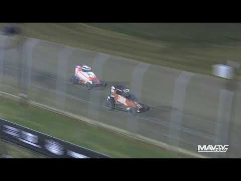 National Midgets at Lake Ozark Speedway Highlights - 9/7/2021 - dirt track racing video image