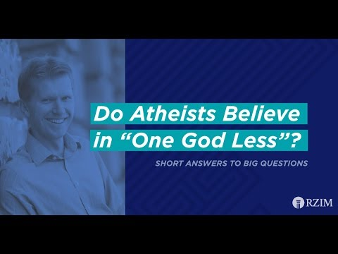 36. Do Atheists Believe in One God Less?
