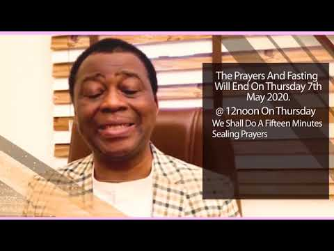 Important Announcement From Dr.D.K Olukoya (G.O MFM WORLD WIDE)